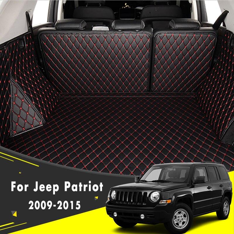 Auto Accessoires Kofferbak Mat Staart Lading Pad Lade Boot Liner Vloer Tapijt Voor Jeep Patriot 2009 2010 2011 2012 2013 2014 2015