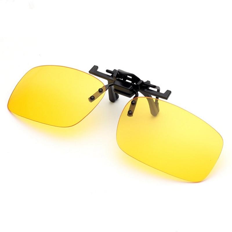 Car Driver Goggles Polarized Outdoor Anti-UVA UVB For Men Women Clip On Sunglasses Driving Night Vis