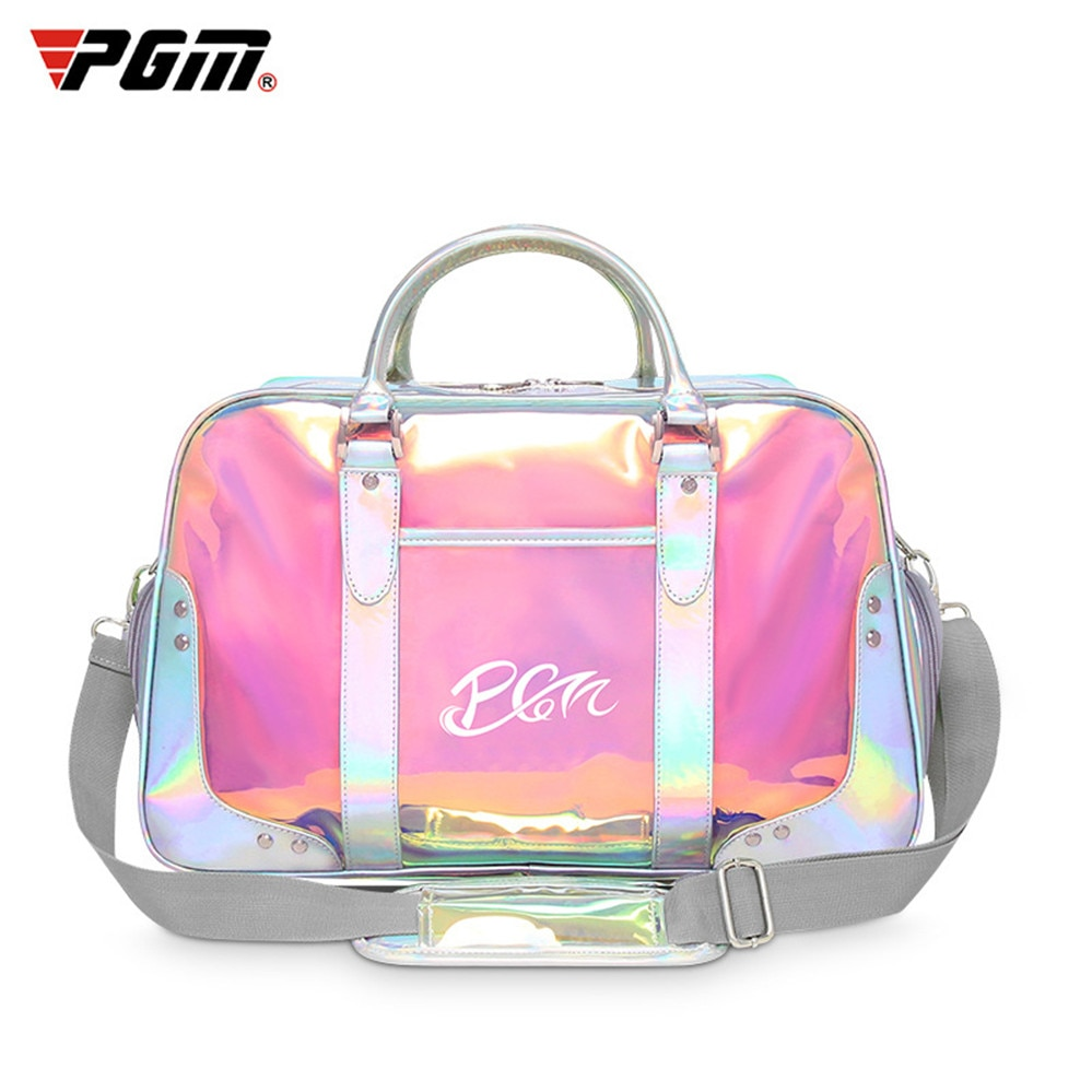 Golf Clothes Bag Ladies End Clothing Pu Ball Package Multi-Functional Clothes Bag Colorful Wear-resisting Golf Bag PGM