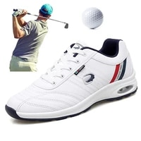 2020 waterproof mens golf sneakers black white comfortable golf sport shoes brand anti slip outdoor spikeless golf shoes for men