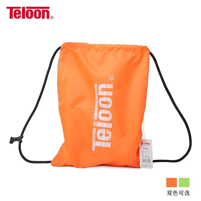 Teloon raqueta de tenis mochila portabilidad hombro zapatos impermeables bolsa para tenis raquetas dulce diseño de bolsillo interior K011SPB