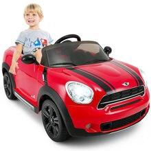 12V 전기 미니 Countryman 라이센스 어린이 타고 자동차 R/C 원격 제어 빨간색