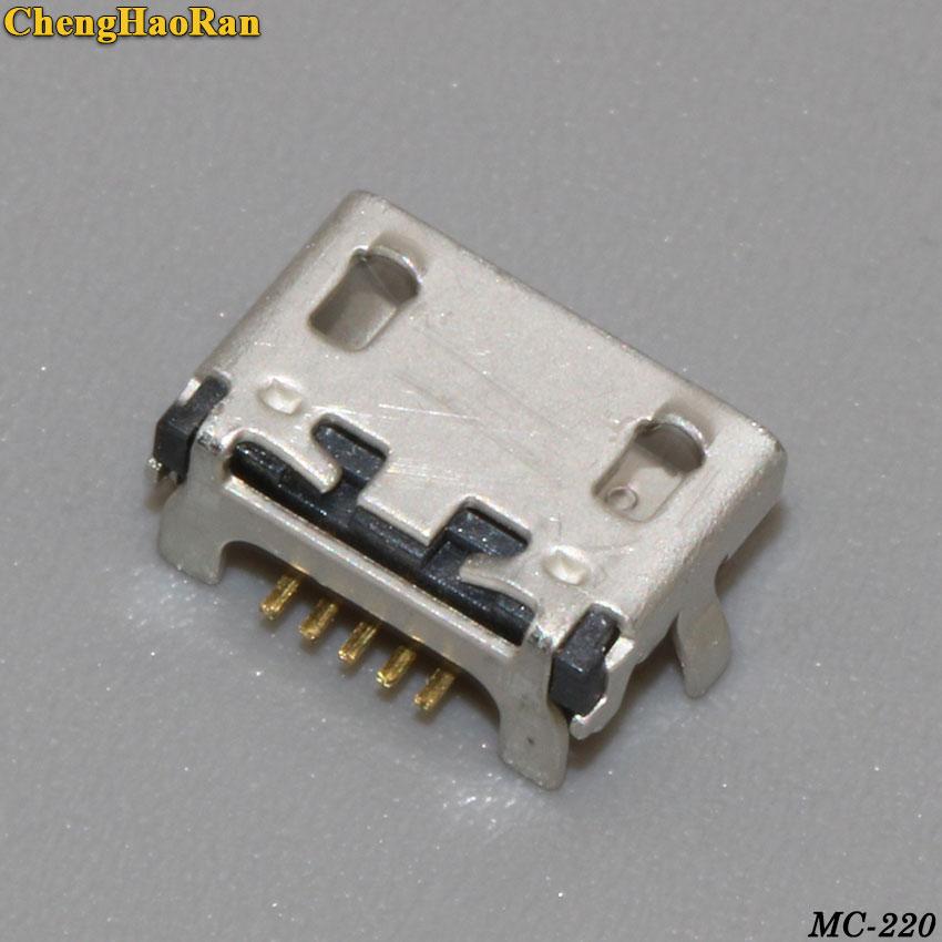 ChengHaoRan 2 piezas 5P para Lenovo A788T S930 A656 A370 S390 A388T A766 de puerto de carga USB conector de muelle conector Jack