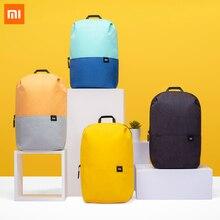 Mochila Xiaomi Mi Mini Original 7L/15L/20L de gran capacidad, bolsa de viaje para hombres y mujeres, mochila de ocio urbano, Mochila deportiva colorida para el pecho