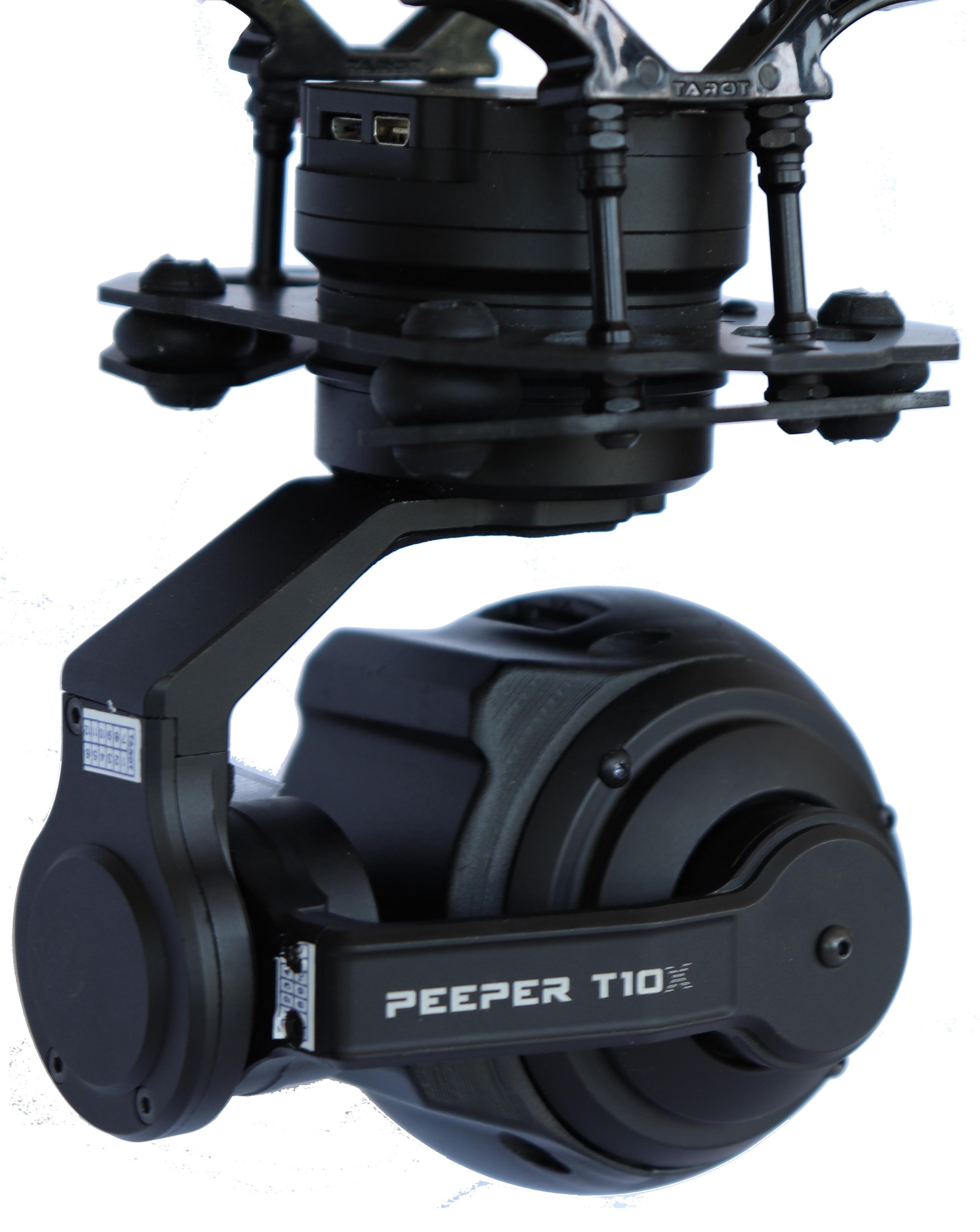 T10X برو الطائرات بدون طيار كاميرا زووم 10X كاميرا زووم بصري gimbal UAV كاميرا حرارية للتصوير الجوي