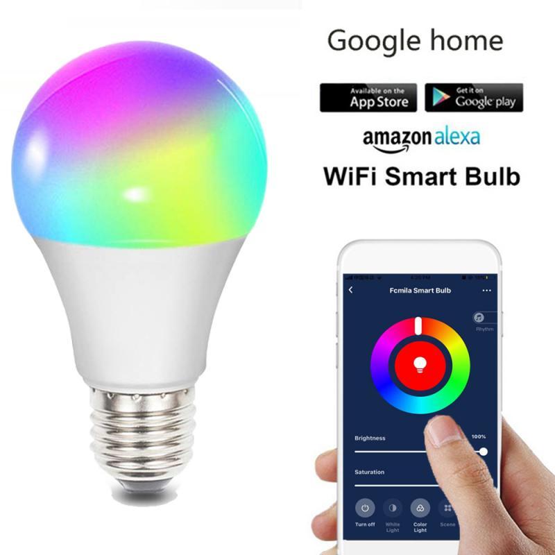 10 W Lampadina Intelligente E27 E26 B22 G10 Wifi Intelligente HA CONDOTTO LA Luce Della Lampadina di Dimmable Lampada Da Tavolo di Controllo A Distanza con Alexa e Google Assistente