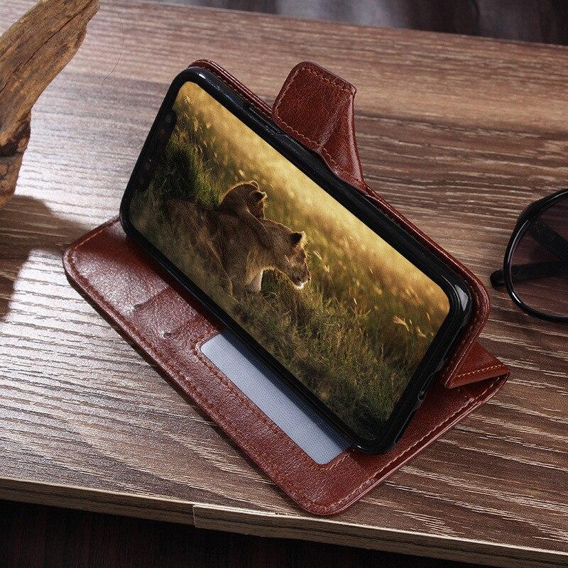 Luxury Flip Leather Case For Huawei Nova 6SE 6 7i 4G 5G 5 Pro 4 3 3i 2 2S Case Retro Wallet Leather Case Retro Flip Leather Case enlarge