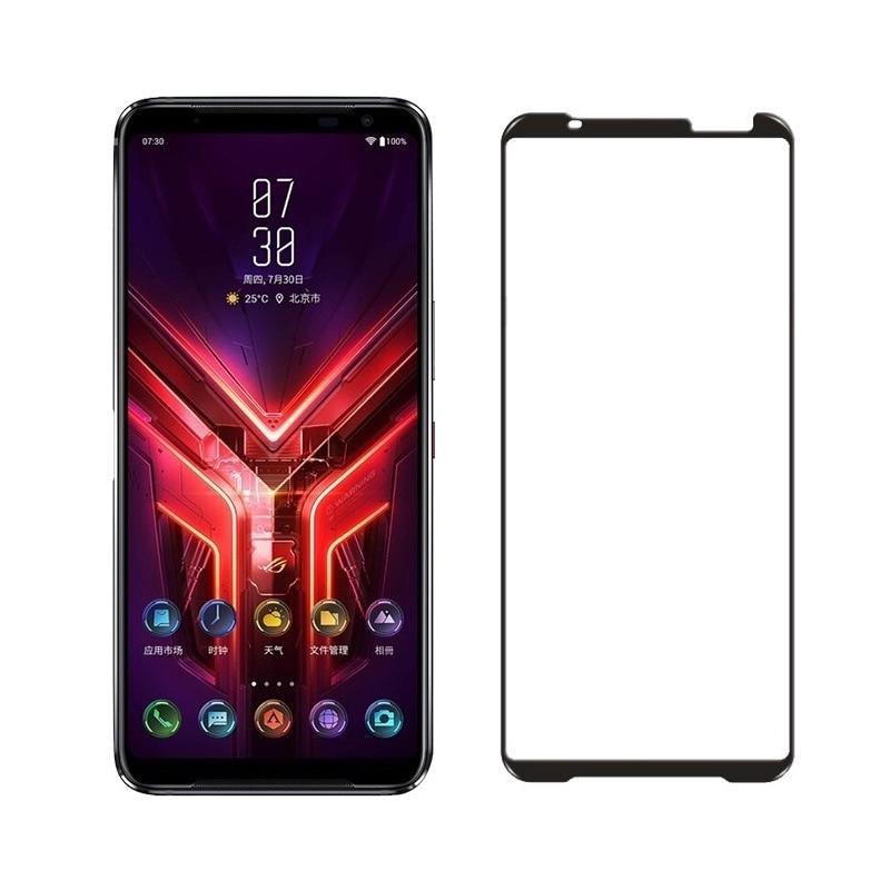 Закаленное стекло с полным покрытием для ASUS Rog Phone 3 ZS661KL, защитная Пленка премиум-класса для Rog Phone 3