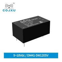 Fonte de alimentação DC-DC isolado buck módulo dip 5 w 9-18vdc ampla tensão ultra pequeno volume de potência para módulos DM41-5W1205V