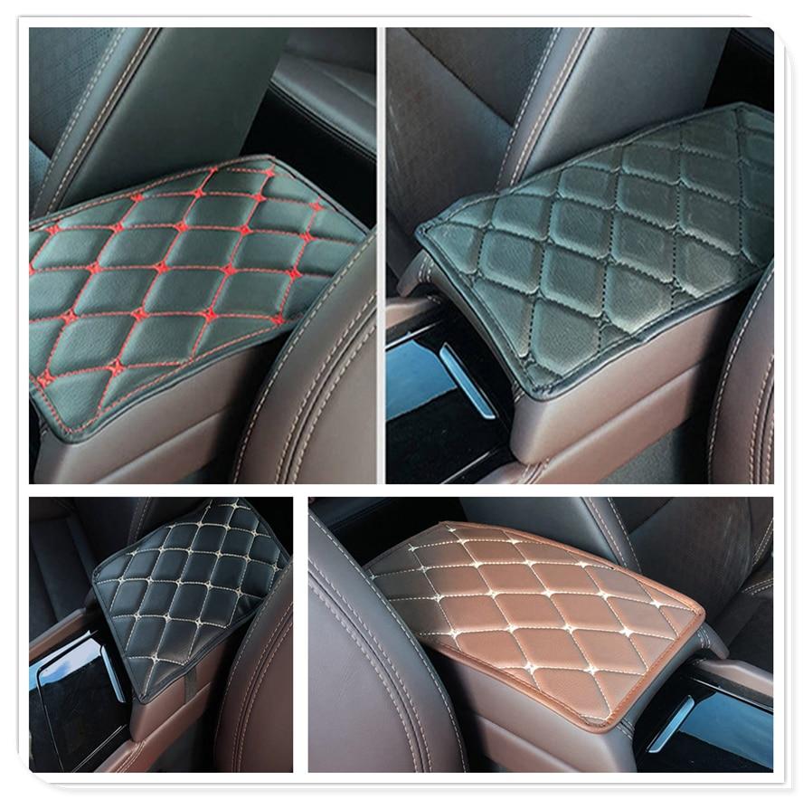 Car Armrest Mat Auto Storage Box Arm rest Pad Cushion Pad for Chevrolet Cobalt Celta West Uplander Cavalier Astra