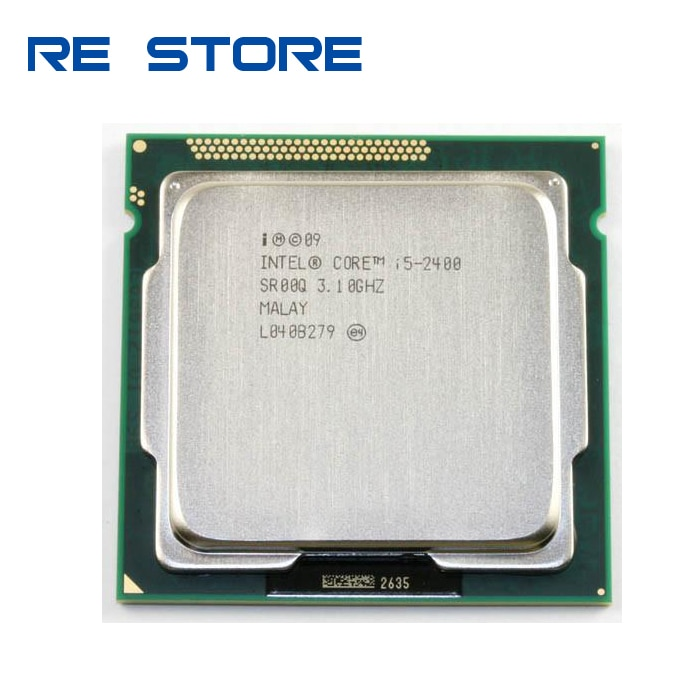 إنتل كور i5 2400 3.1GHz/1MB/6MB المقبس 1155 معالج وحدة المعالجة المركزية i5-2400 العمل 100%