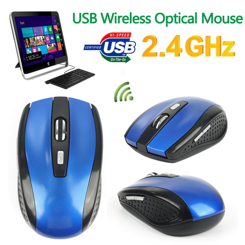 2.4GHz Wireless Mouse Noiseless Portable Mini Mute Mice Silent Gaming Mouse For Desktop Notebook Laptop PC Computer Peripherals
