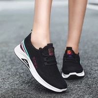 fashion summer sneakers women high quality mesh casual trainers shoes women lace up ladies walking shoes chaussures femme