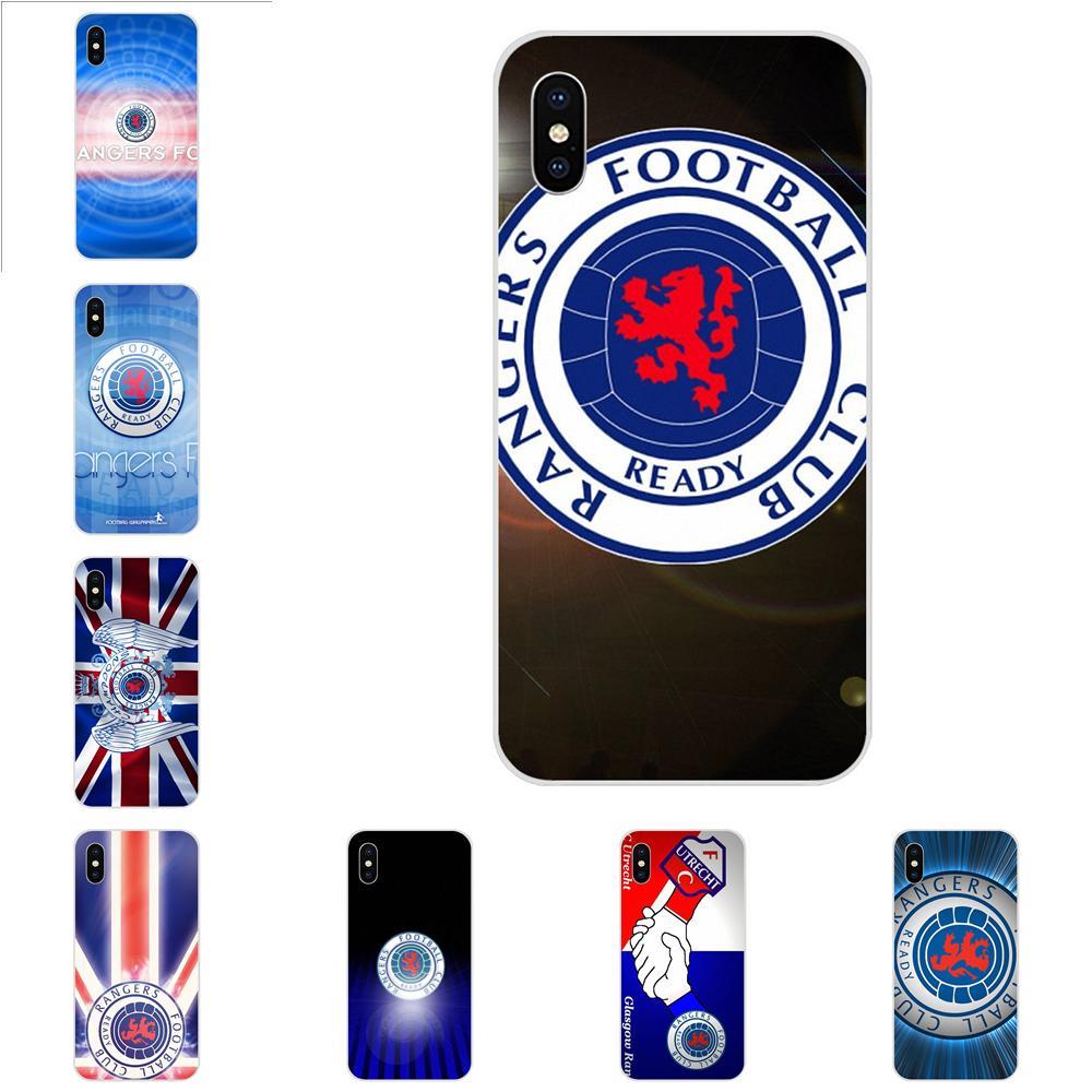 Glasgow Rangers Casos Protetor de Telefone Macio Para LG K50 Q6 Q7 Q8 Q60 X Power 2 3 Nexus 5 5X V10 V20 V30 V40 Q Stylus