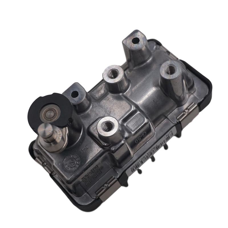 Turbocompresor actuador G59 wastegate Turbo para Audi A6 A8 Q7 3,0 para tránsito Ford 2,2 TDCI 767649 6NW009550 GTB2056VZK 804985