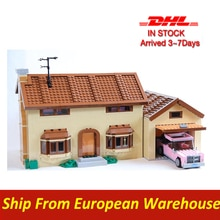 Lepins 16005 Movie Simpsons House Building Block Brick KING 83005 71006 Model Toys bricks  for kits
