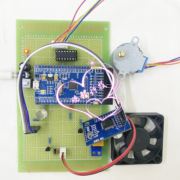 تطوير ld3320 مجموعة التحكم الصوتي للتحكم في المنزل الذكي على أساس التعرف على الكلام STM32 MCU