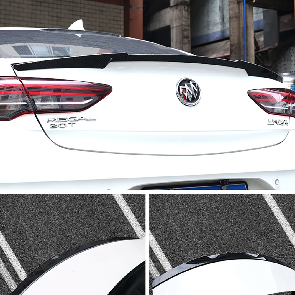 Aitwatt spoiler traseiro para buick regal 2017 2018 2019 plástico abs asa tronco lábio boot capa decorações do carro