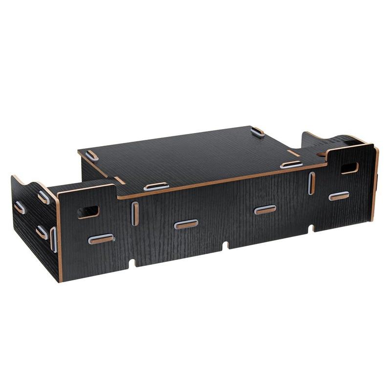 Multi-función de soporte de Monitor para escritorio pantalla de ordenador Riser estante de madera zócalo fuerte portátil soporte de escritorio soporte para portátil