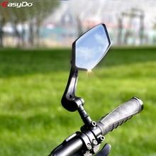 EasyDo-espejo retrovisor para bicicleta, Reflector de visión trasera de amplio alcance, ajustable, izquierdo y derecho