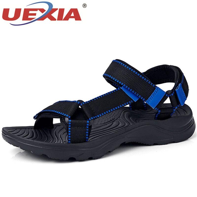 2020 Bohemia verano punta redonda Casual recortes moda suave zapatos transpirables cómodos hombre playa sandalias Jelly zapatos calzado