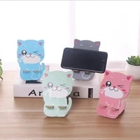 cartoon aimmal holder phone stand holders for smartphones and tablet mobile phone universal bracket decoration home decor shelf