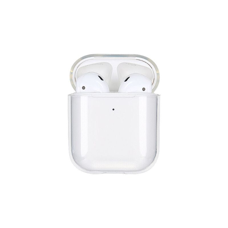 AliExpress - Soft TPU Transparent Cover Earphone Protective Case Clear Skin For AirPods 1 2
