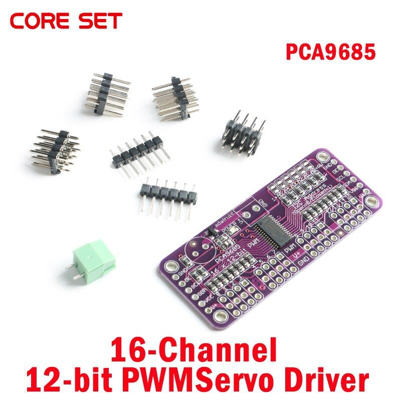 CJMCU-PCA9685 16-Channel 12-bit PWMServo Driver PCA9685 Adafruit-Compatible