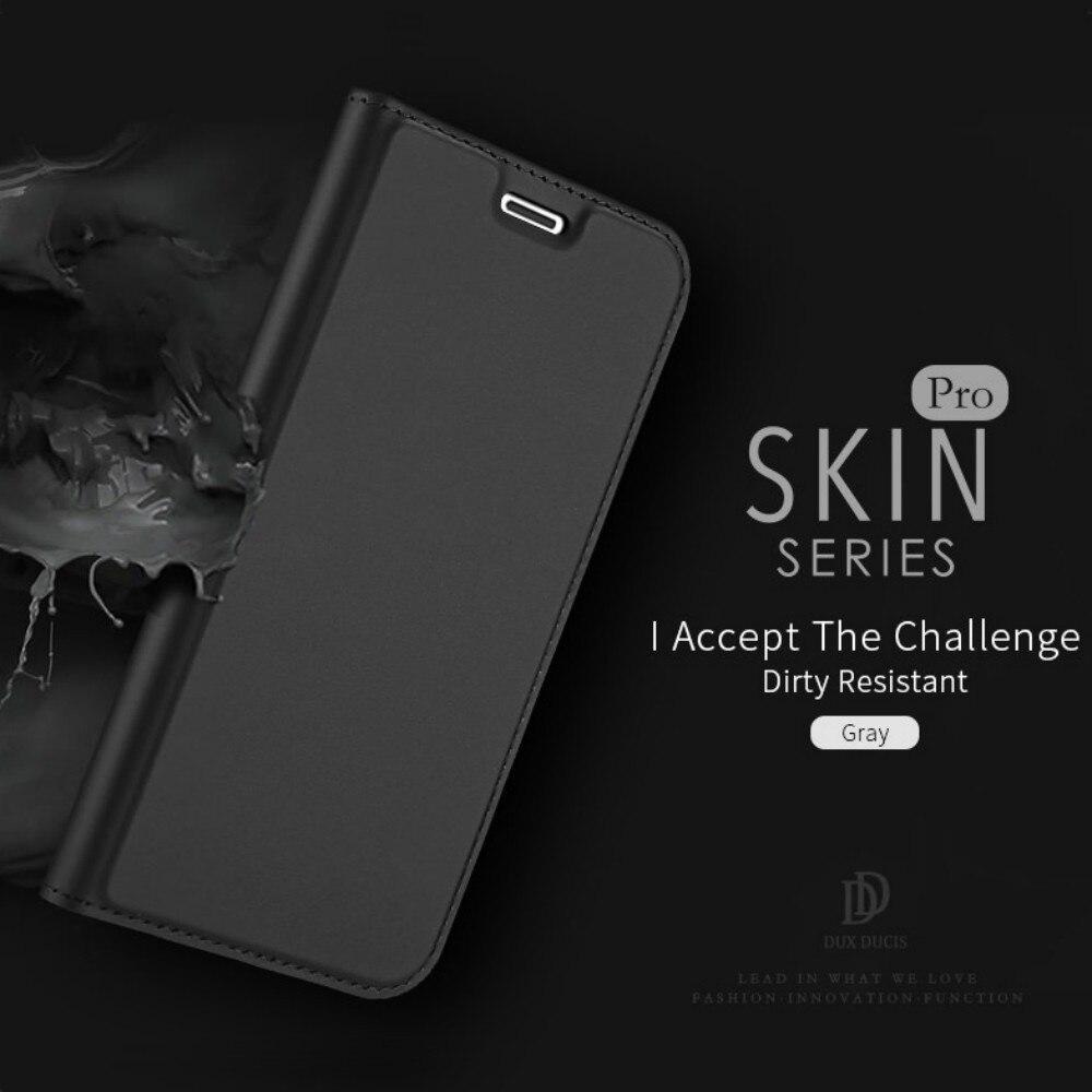 Lujosa funda tipo billetera con tapa L-FADNUT para iPhone X Xr Xs Max, funda de piel magnética para iPhone 8 7 6S 6 Plus 5 5S SE, carcasa