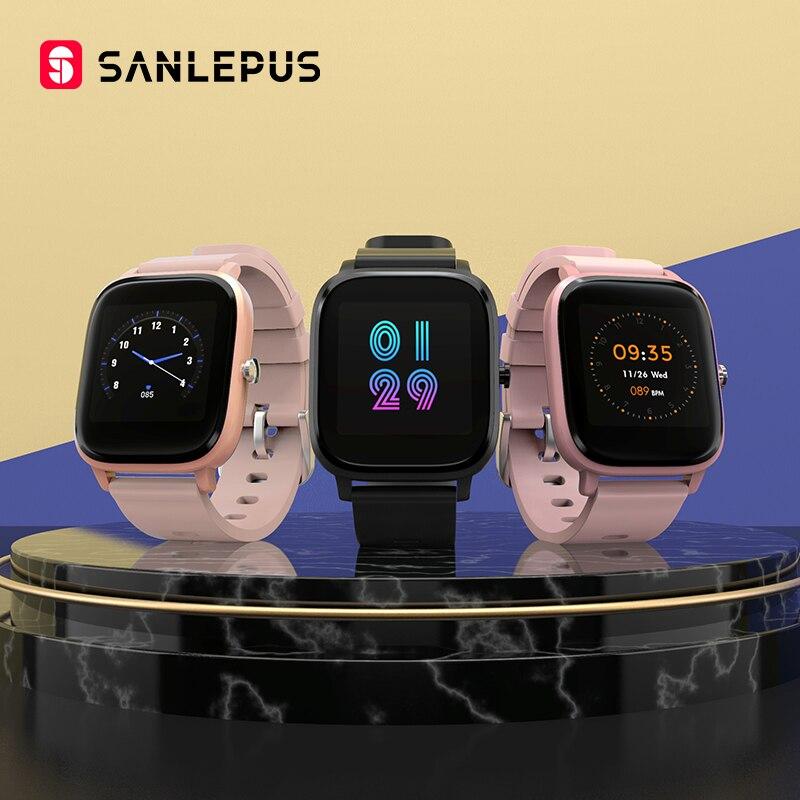 2021 SANLEPUS Smart Watch Sport Heart Rate Monitor Waterproof Fitness Bracelet Men Women Smartwatch For Android iOS Apple Xiaomi