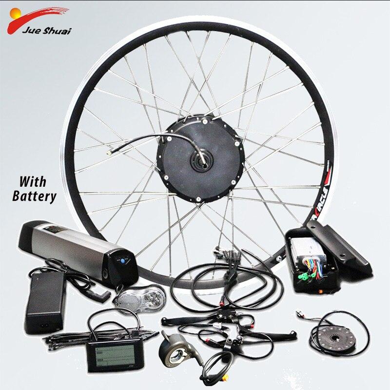 Kit de conversión de Bicicleta eléctrica 36V10A Kit eléctrico Bicicleta de rueda...