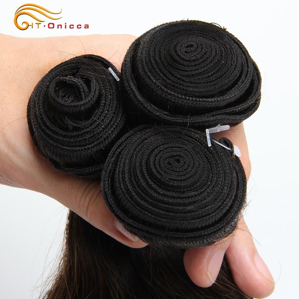 Ombre Brazilian Body Wave Bundles With Closure 70g/pc Human Hair 3 Bundles With Closure 1B/30 Honey Blonde Bundles With Closure