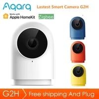 Xiaomi Aqara     camera intelligente G2H  1080P HD  Vision nocturne  edition passerelle  moniteur de securite pour Apple HomeKit APP Zigbee Mi Home