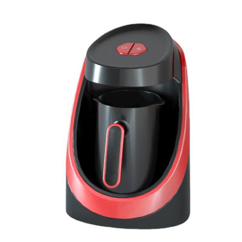 التلقائي ماكينة القهوة التركية وعاء كهربائي صغير المحمولة السفر صانع القهوة 4 كوب قدرة نظام تحذير الصوت التيار المتناوب 220 فولت EF