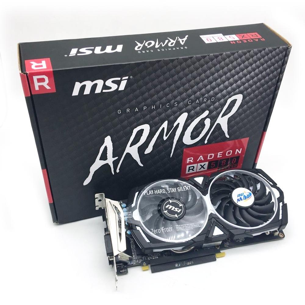 Rumax Best Selling GPU Graphics Card 8GB MSI RX580 GPU Mining Rig Ethereum Graphic Card