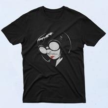 Edna Modus Incredibles 90S T-shirt Stijl