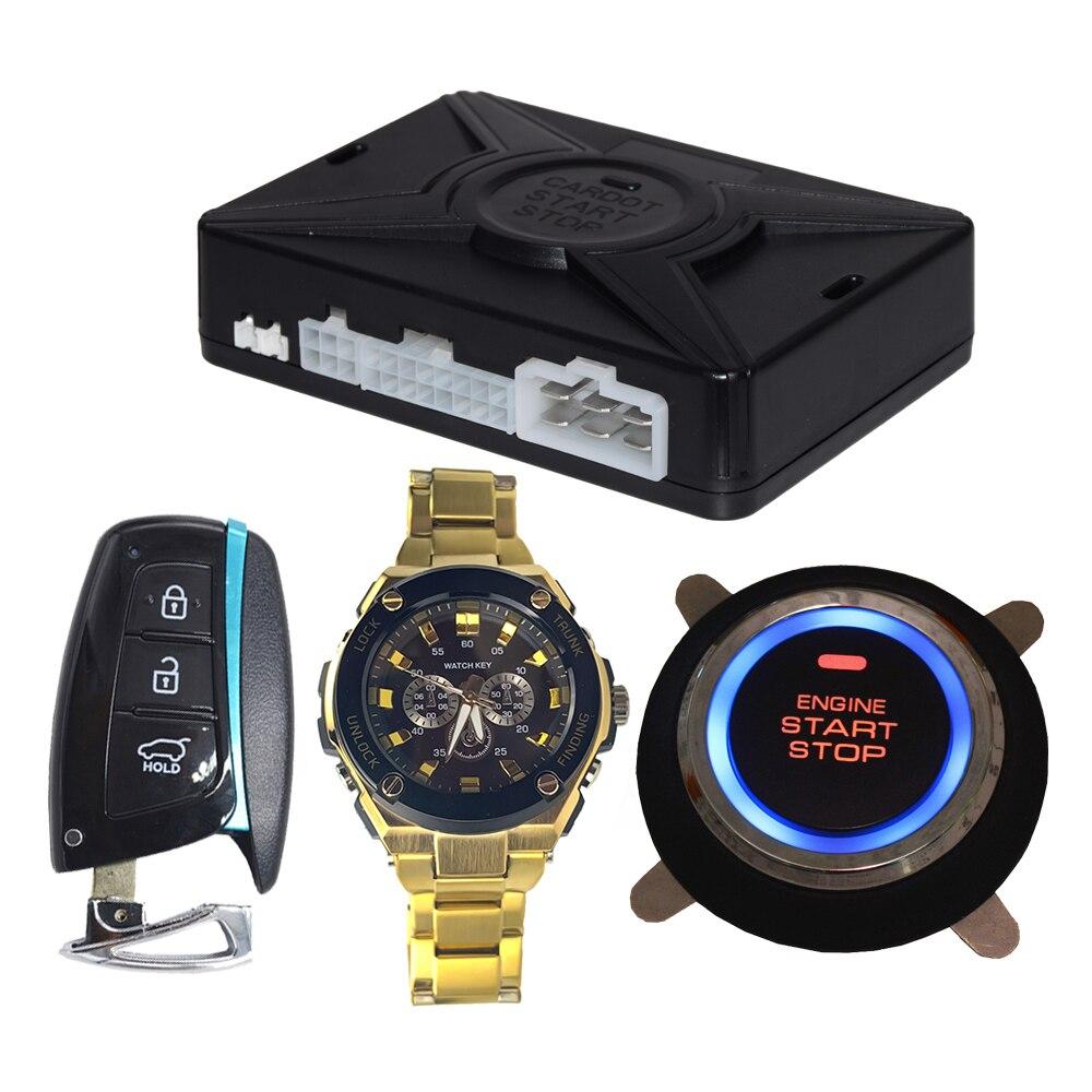 Cardot-llave De reloj inteligente, sistema De entrada sin llave, botón De inicio,...