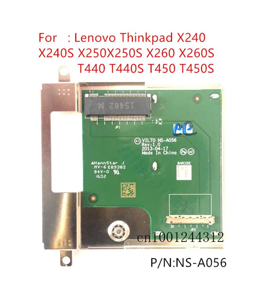 Placa conectora Original para Lenovo Thinkpad T440 T440S T450 T450S SSD, NS-A056