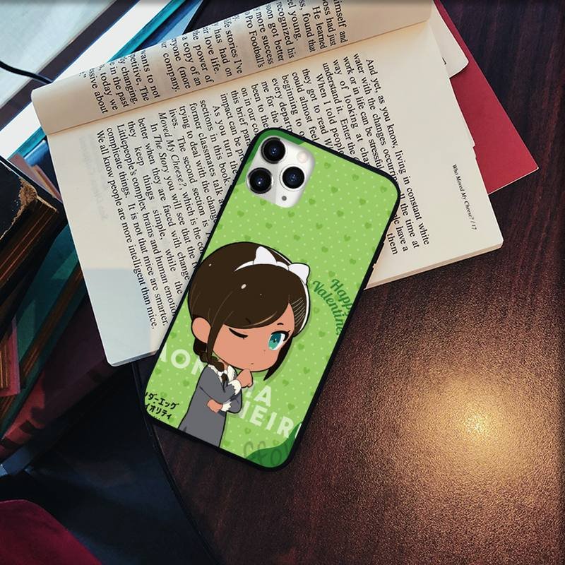 Wonder egg priority cute funny Phone Cases for iPhone 11 12 pro XS MAX 8 7 6 6S Plus X 5S SE 2020 XR Soft silicone cover shell  - buy with discount