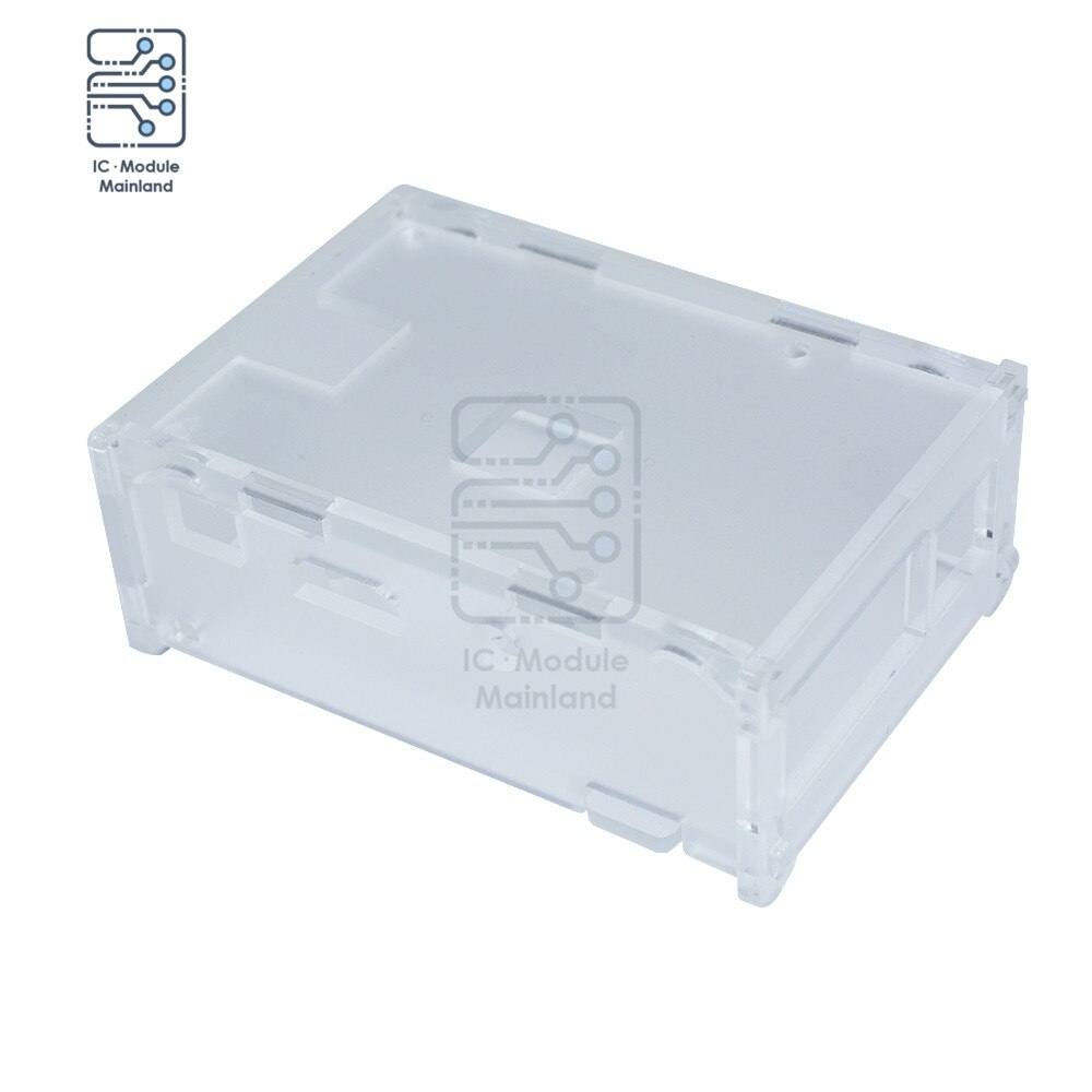 Transparent Case Protective Box Clear Cover Acrylic Case Shell Enclosure Computer Box Case Compatible for Raspberry Pi недорого
