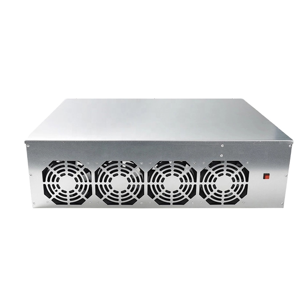 Miner Case Set BTC-D37 BTC S37 T37 Chassis Motherboard 8 Slots DDR SSD Mining Machine System With 4 Fans for Mining ETH Ethereum
