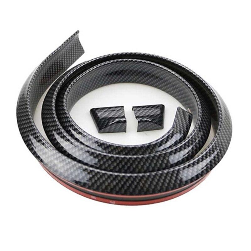 Spoilers de fibra de carbono 5D con estilo para coche de 1,5 M, Spoiler de reacondicionamiento DIY para LEXUS IS250 IS300 ES240 ES250 ES300 ES300H ES330 ES350