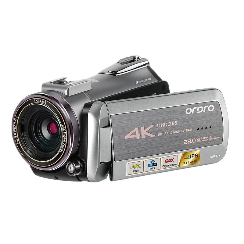 ORDRO AZ50 Network Live Camera 4K HD Professional Video DV Live Camera Electronic Image Stabilization