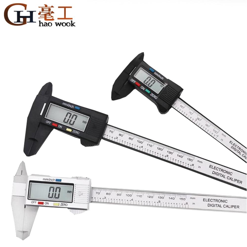 Dongcheng Digital Vernier Calipers 150mm 6inch Lcd Electronic Carbon Fiber Gauge Height Measuring Instruments Micrometer Calipers Aliexpress