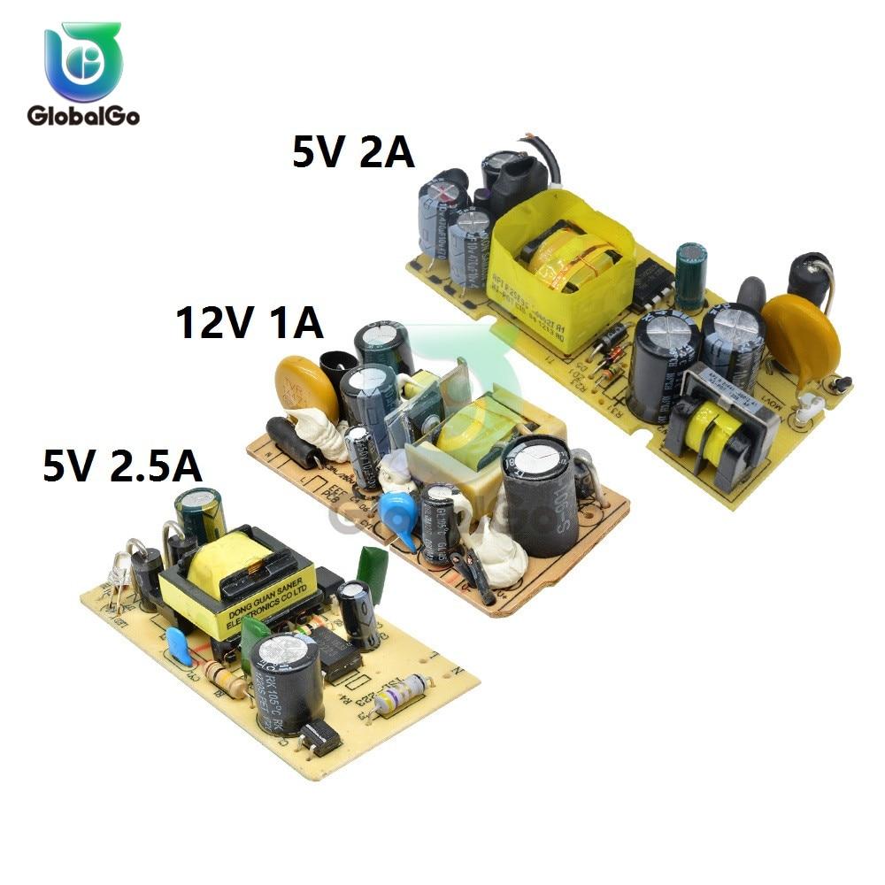 Power Supply Module AC 110v 220v 240V to DC 5V 2A 2.5A 12V 1A Switching Power Supply Board Module Ci