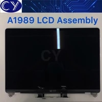 new space gray greysilver color for macbook pro retina 13 a1989 full lcd display screen complete assembly mr9q2 emc 3214
