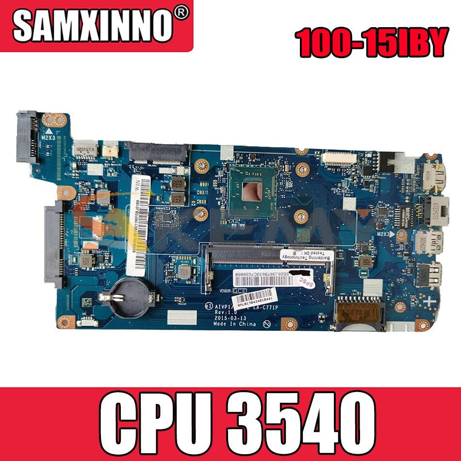 Akemy العلامة التجارية الجديدة لينوفو 100-15IBY B50-10 AIVP1/AIVP2 LA-C771P اللوحة المحمول CPU 3540 DDR3 100% اختبار OK