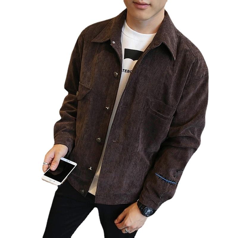 Молодежные куртки Pasbos, мужское пальто, бейсбольная зимняя одежда, Корейская версия, приталенные осенние пальто для мальчиков, куртки для му...