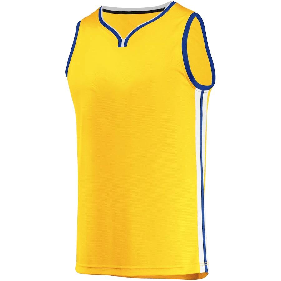 2021 Мужская футболка для Американской баскетбольной команды «Золотой Государственный Стивен Карри»