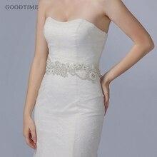 Fashion Wedding Belts For Wedding Dress Bridal Belt Party Bridesmaid Dress Girdle Lady Accessories Rhinestone Pearl Women Belt